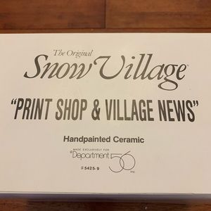 Print Shop and Village News